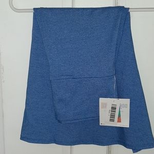 NWT Lularoe Solid Blue Azure A-Line Skirt Small
